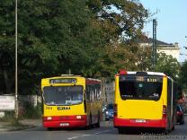 Jelcz M121M #9514 i Mercedes-Benz O530G #8338
