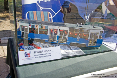 Stoisko WK - model Konstal 105 Na #2561