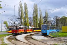 Linke-Hoffmann Berolina #1+2 & Konstal 105Na #2561+62