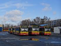 Volvo B10BLE 6x2 #8040, Volvo B10BLE 6x2 #8037 i Volvo B10BLE 6x2 #8038