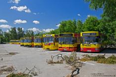 Jelcz M121M #9539, Volvo B10BLE 6x2 #8038 i Jelcz M181MB #8500